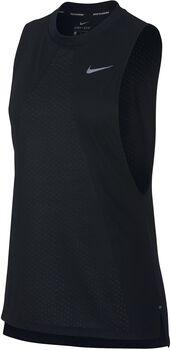 Nike Tailwind top Dames Zwart