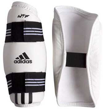 ADIDAS WTF approved onderarmbeschermers Wit