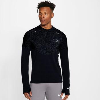 Nike Sphere Run Division top Heren Zwart