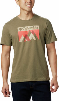 Columbia Alpine Way™ Graphic t-shirt Heren Bruin