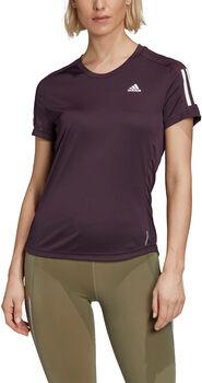adidas Own the Run T-shirt Dames Paars