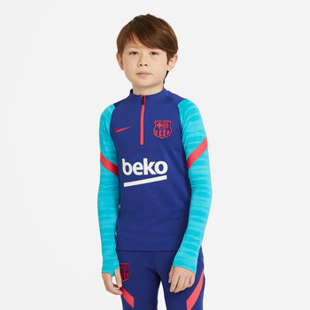 Nike FC Barcelona Strike trainingstop Blauw