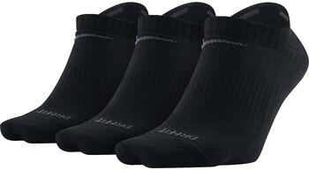 Nike Dri-FIT Lightweight 3-pack sokken Heren Zwart