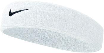 Nike Swoosh hoofdband Wit