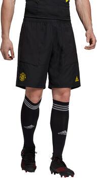 ADIDAS Manchester United FC short Heren Zwart