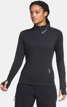 Nike F.C. 1/4 Zip longsleeve Dames Zwart