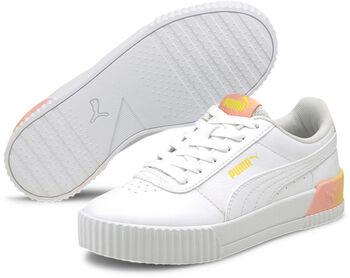 Puma Carina Summer Fade Kids sneakers Meisjes Wit