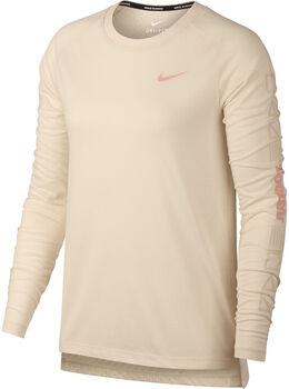 Nike Tailwind longsleeve Dames Oranje