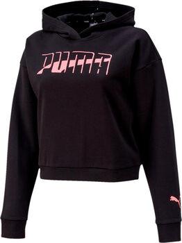 Puma FL hoodie Dames Zwart