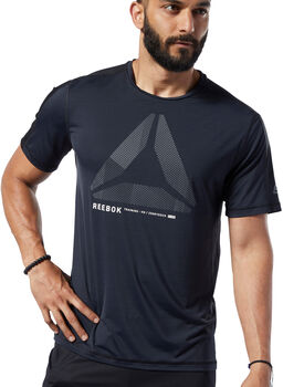 Reebok One Series Training ACTIVCHILL Move shirt Heren Zwart