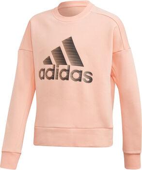 ADIDAS ID Crew sweater Meisjes Rood