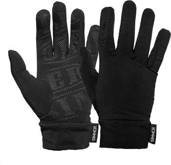 Sinner Huff Fleece handschoenen Heren Zwart