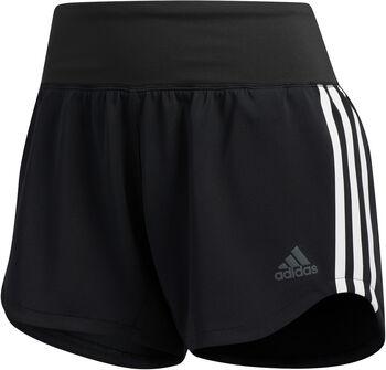 adidas 3-Stripes Woven Gym short Dames Zwart
