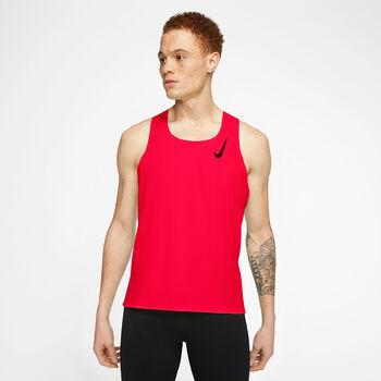 Nike Aeroswift Running top Heren Rood