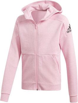 ADIDAS ID Stadium hoodie Meisjes Roze