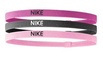 Nike Elastic 3pk haarbandjes Roze