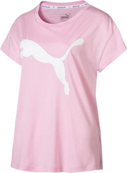 Puma Active Logo shirt Dames Roze