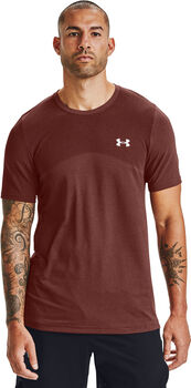 Under Armour UA Seamless shirt Heren Rood