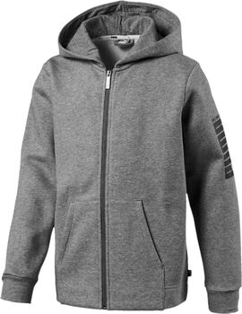 Puma Rebel Bold hoodie Jongens Grijs