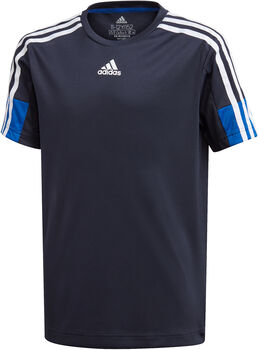 adidas Must Haves AEROREADY 3-Stripes kids shirt  Jongens Blauw