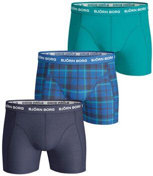 Björn Borg BB Seasonal Solid boxershort Heren Blauw