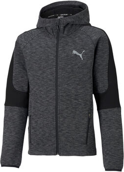 Puma Evostripe Full-Zip hoodie Jongens Zwart