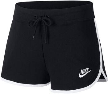 Nike Sportswear Fleece short Dames Zwart