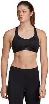 ADIDAS Stronger For It Soft sportbeha Dames Zwart