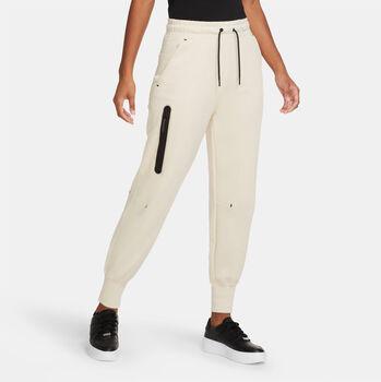 Nike Sportwear Tech Fleece broek Dames Wit