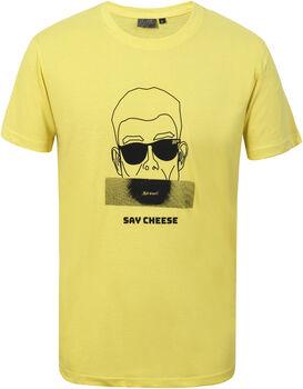 Icepeak Aledo t-shirt Heren Geel