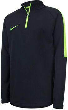 Nike Drill Academy jr sweater Jongens Zwart
