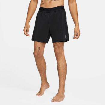 Nike Yoga Luxe short Heren Zwart