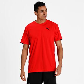 Puma Train Graphic t-shirt Heren Rood