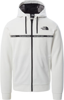 The North Face Mountain Athletics Overlay hoodie Heren Wit