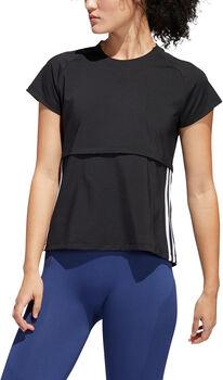 adidas 3-Stripes shirt Dames Zwart