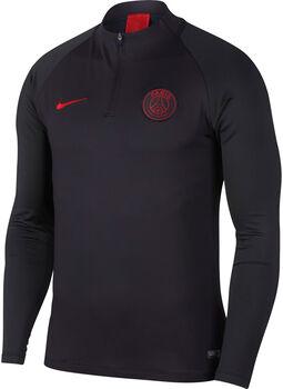 Nike PSG Dry Strike Dril shirt Heren Zwart