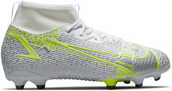 Nike Superfly 8 Academy FG/MG kids voetbalschoenen Wit