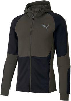 Puma Evostripe FZ hoodie Heren Groen