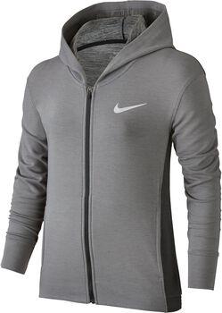 Nike g nk hoodie fz obsessed Jongens Zwart