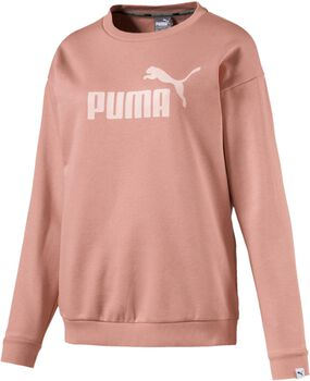 Puma Essential No. 1 Crew sweater Dames Oranje