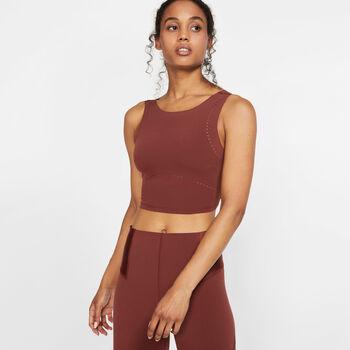 Nike Tech Pack Crop top Dames Bruin