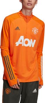 adidas Manchester United trainingsshirt 20/21 Heren Oranje