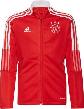 adidas Ajax Tiro kids trainingsjack 21/22 Jongens Rood