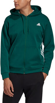 adidas Must Haves 3-Stripes hoodie Heren Groen