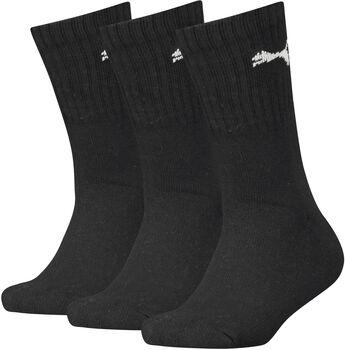 Puma Sport 3-pack kids sokken Zwart