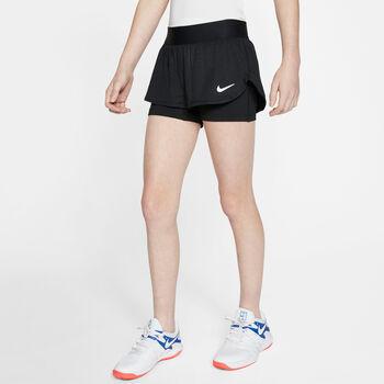 Nike Court Flex kids short Zwart