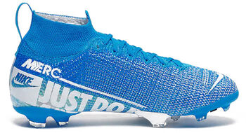 Nike Superfly 7 Elite FG Jr Voetbalschoenen Blauw
