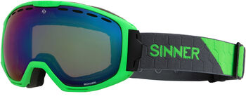 Sinner Mohawk skibril Groen