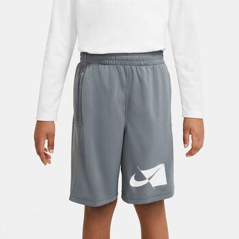 Nike Dri-FIT kids short Grijs