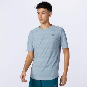 New Balance Q Speed Jacquard shirt Heren